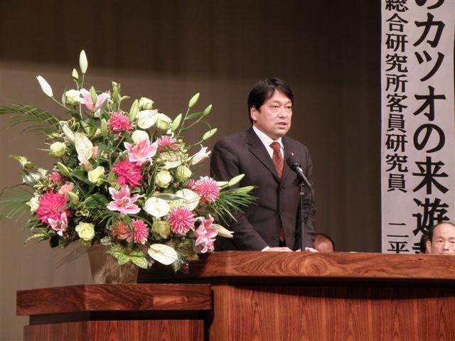 かつおフォーラムin気仙沼 2010.11.28 気仙沼中央公民館 042