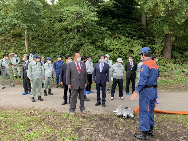 緊急消防援助隊北海道東北ブロック合同訓練② (2)
