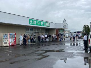 9日志波姫地区街頭演説会